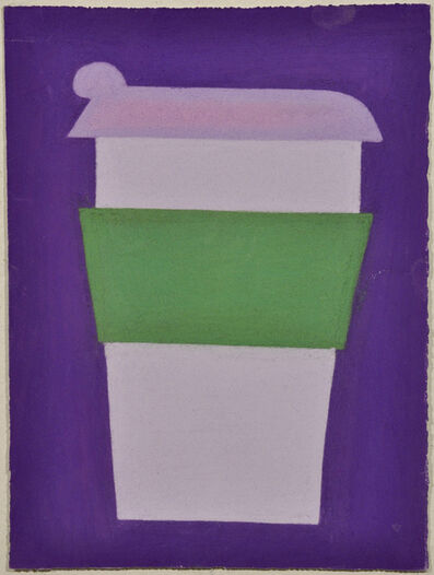 Julian Martin, 'Untitled (Purple and Green Coffee Cup on Purple)', 2010