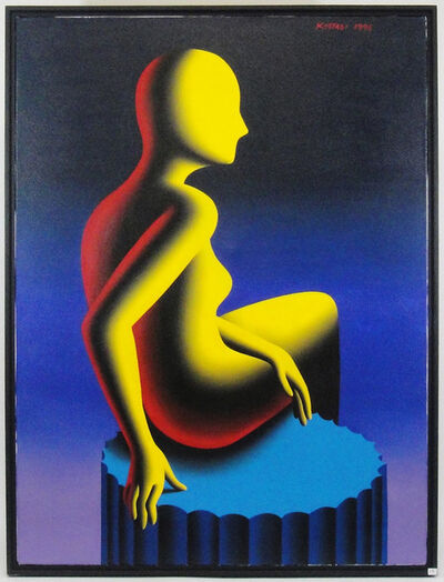 Mark Kostabi, 'Goddess of confirmation', 1995