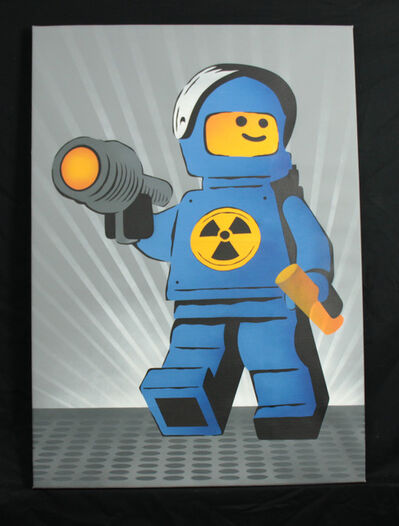 Ame72, 'Nuclear Meltdown Ame 72 original Canvas', 2008