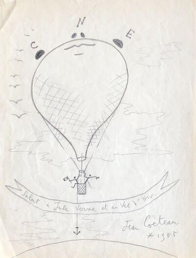Jean Cocteau, 'Un Ballon en Plein Ciel (A Balloon in the Sky)', 1955