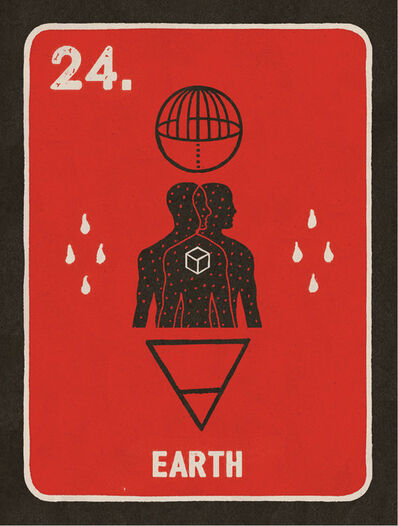 Daniel Martin Diaz, '24. Earth', 2018