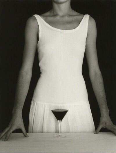 Chema Madoz, 'Untitled - ( White Dress and Wine)', 1985