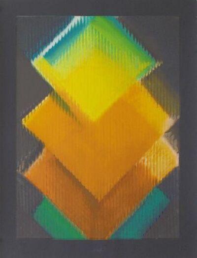 Heinz Mack, 'September', 1990