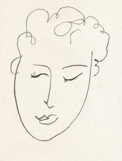 Henri Matisse, 'Jules Romain (from Pierres Levées)', 1948