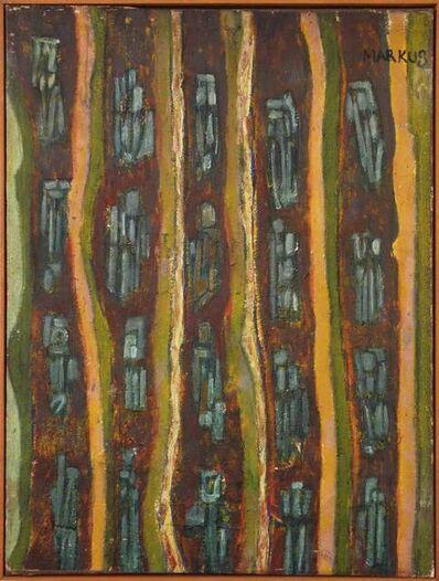 Markus Lüpertz, 'Ohne Titel (Dithyrambisch)', 1959