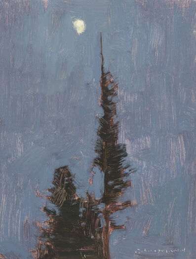 David Grossmann, 'Waxing Moon and Night Pines', 2010-2015