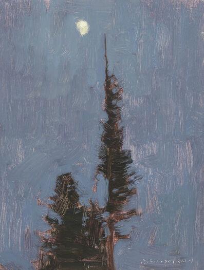 David Grossmann, 'Waxing Moon and Night Pines', 2010-2015