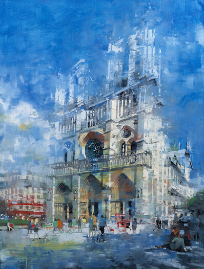 Mark Lague, 'Notre Dame Afternoon', 2020