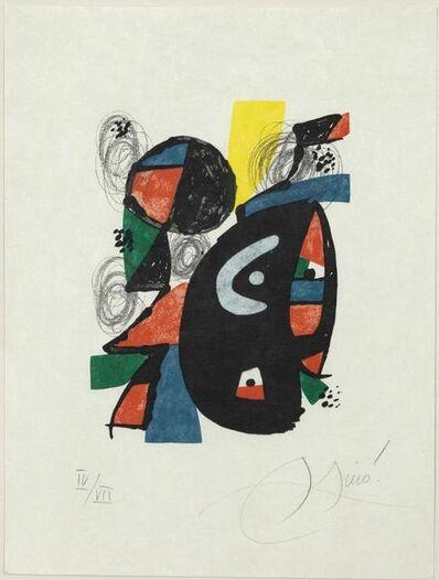 Joan Miró, 'La Mélodie Acide, IV', 1980