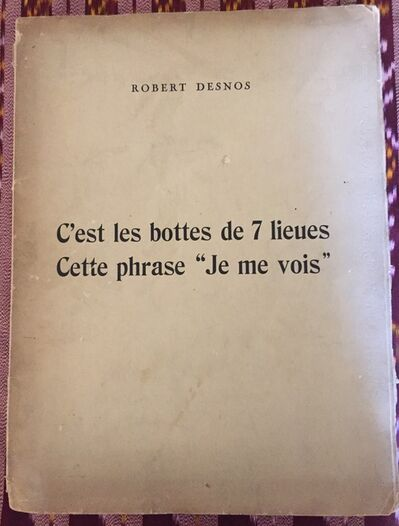 """André Masson, 'C'est les bottes de 7 lieues cette phrase """"je me vois""""', 1926"""