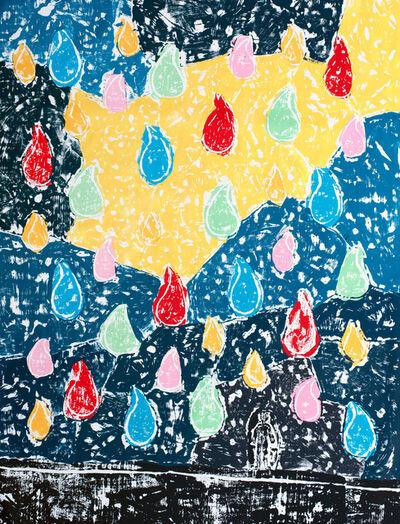Olaf Breuning, 'Color Rain', ca. 2020