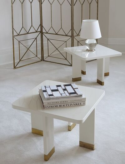 Jacques Quinet, 'Pair of Side Tables', circa 1970