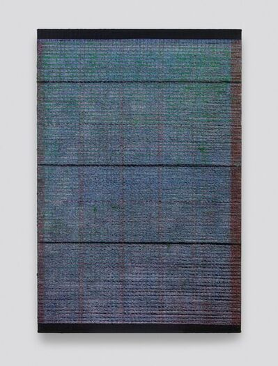 Chi Qun 迟群, 'Bisect-Gray, Green and Red', 2019