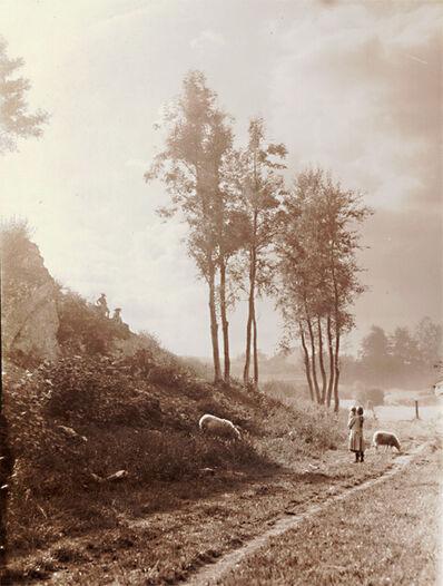 Léonard Misonne, 'Watching the Sheep'