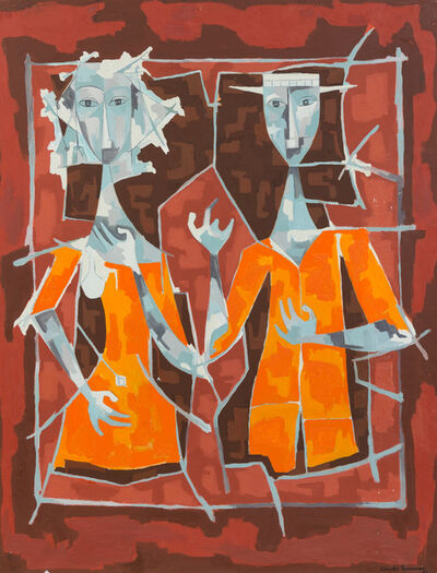 Cundo Bermúdez, 'Couple', 1958