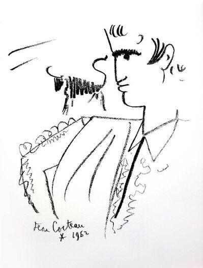 """Jean Cocteau, 'Original Lithograph """"Portrait"""" by Jean Cocteau', 1965"""