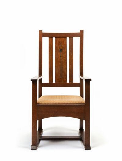 Harvey Ellis, ''Shoe-foot' armchair', 1903