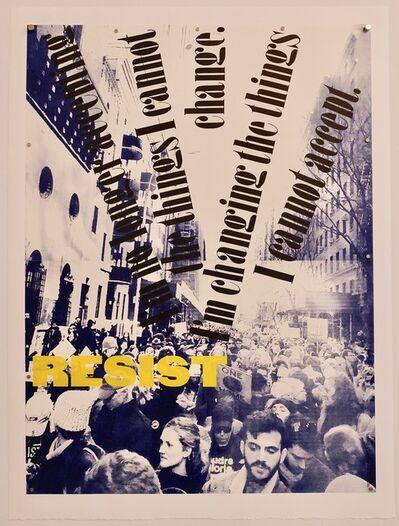 Ruth Lingen, 'Resist (Angela Davis)', 2019