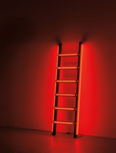 Iván Navarro, 'Red Ladder (Backstage)', 2005