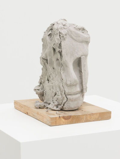 Mark Manders, 'Unfired Clay Head', 2014