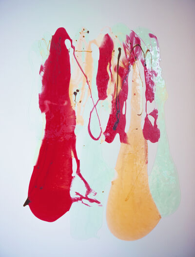 Stefanie Brehm, 'stripe drip', 2015
