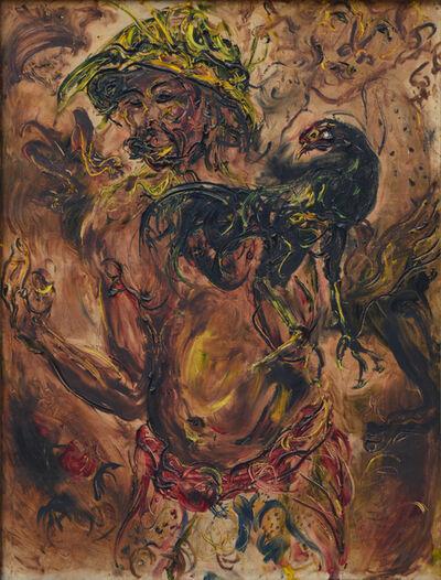Affandi, 'Sang Juara (The Champion)', 1979