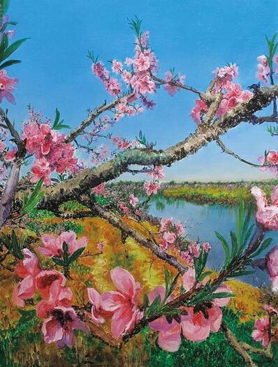 Zhou Chunya 周春芽, 'Peach Blossom', 2010