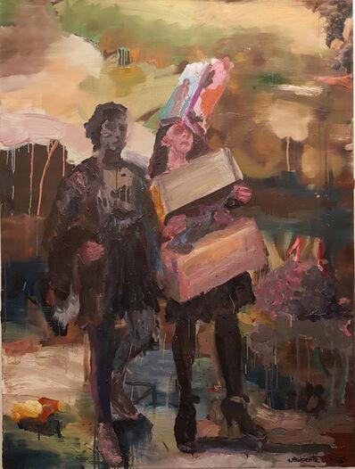 Gerard Waskievitz, 'Späte Mädchen ', 2020