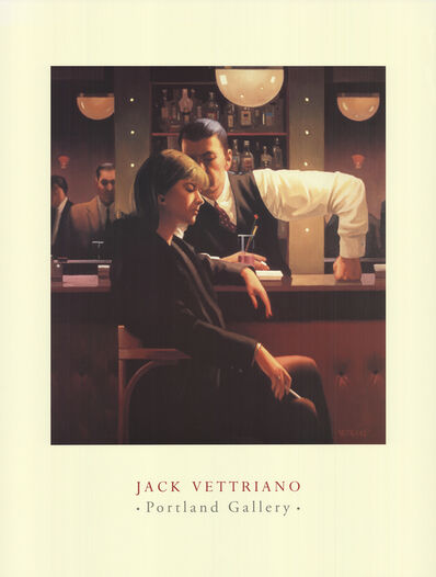Jack Vettriano, 'Cocktails and Broken Hearts', 1998