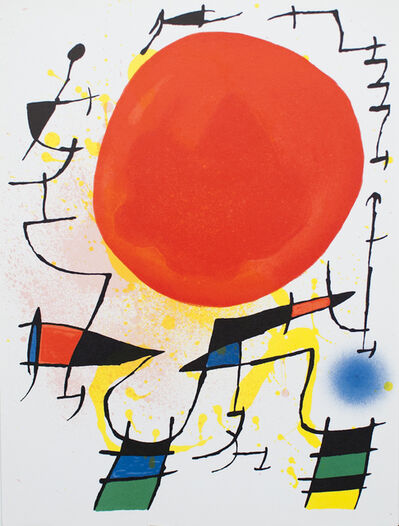 Joan Miró, 'Litografia Original III', 1972