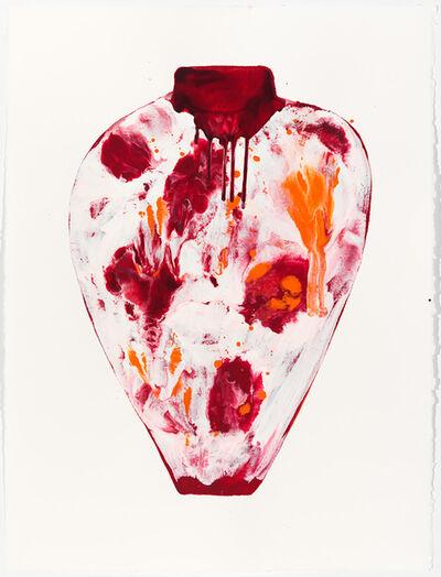 Lynn Basa, 'Untitled Red & Orange'