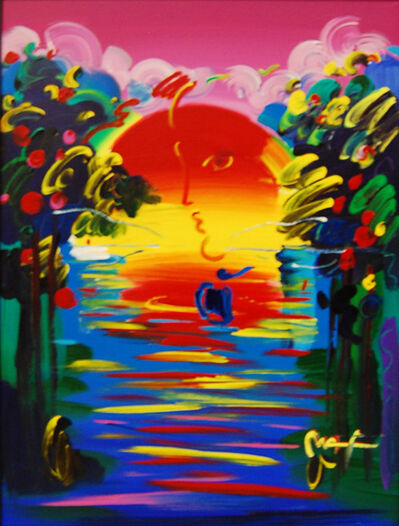 Peter Max, 'Better World III', 2001