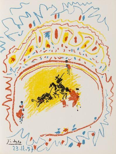 Pablo Picasso, 'La Petite Corrida (Bloch 839; Mourlot 302; Cramer Books 92)', 1958