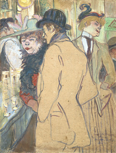 Henri de Toulouse-Lautrec, 'Alfred la Guigne', 1894