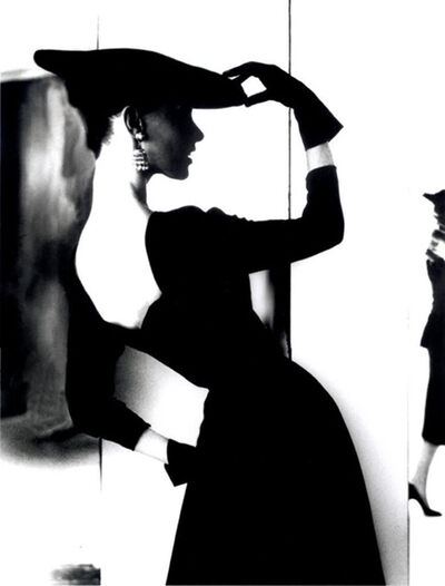 Lillian Bassman, 'Barbara Mullen, (Flat Hat, Bare Back)', ca. 1950