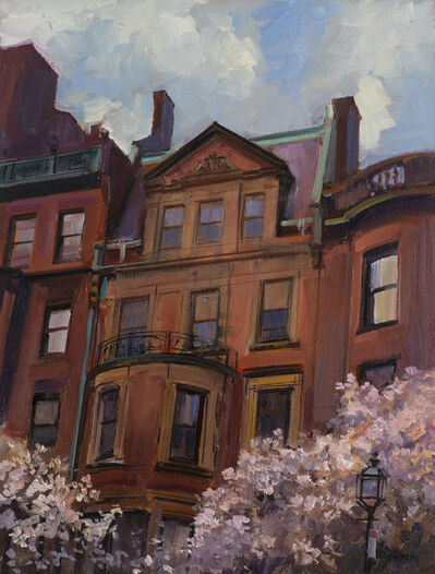 Joel Babb, 'Spring Weather, Back Bay', 2020