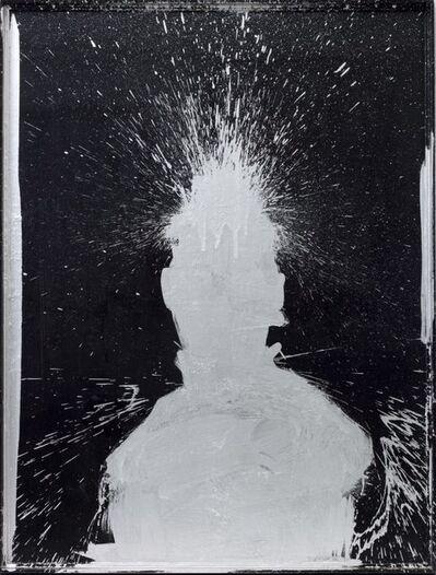 Richard Hambleton, 'Shadow Head with Silver', 1998