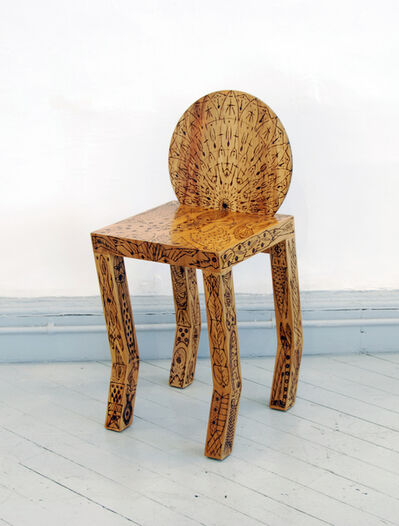"Pedro Barrail, '""El Castor"" Tattoo Stool', 2008"