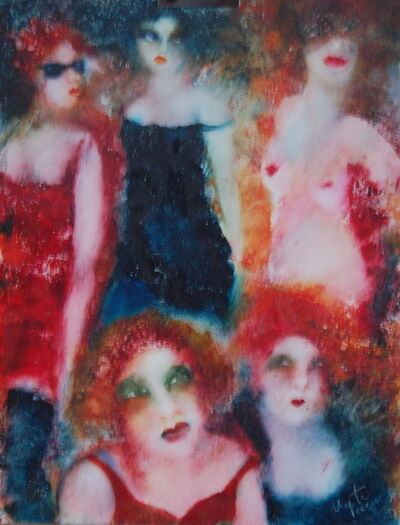 Inge Clayton, 'Five female figures', 2010