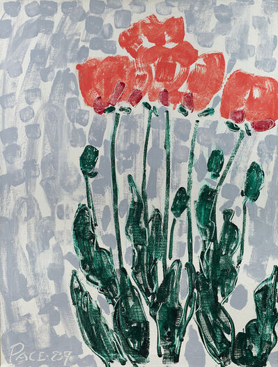 Stephen Pace, 'Poppies I  (89-1)', 1989