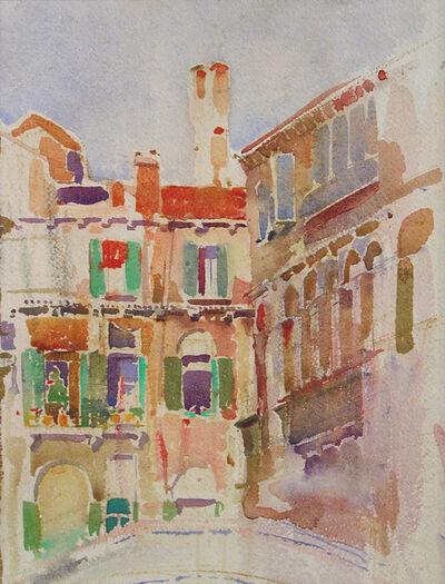 Louis Kahn, 'Canal Houses, Venice, Italy', 1928-1929