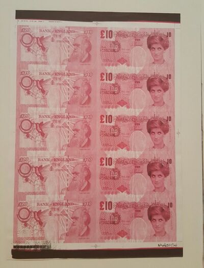 Banksy, 'Di Faced Tenners AP', 2004