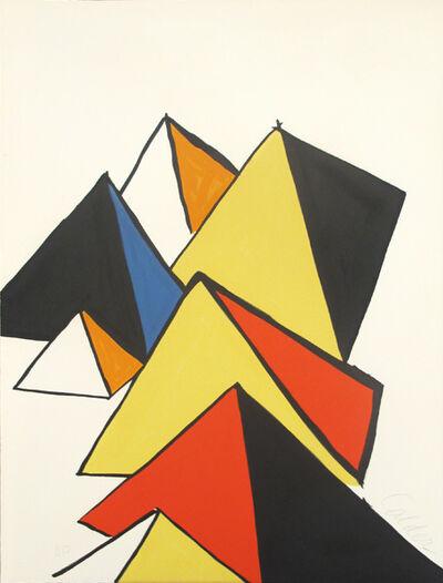 Alexander Calder, 'Pyramides', 1970