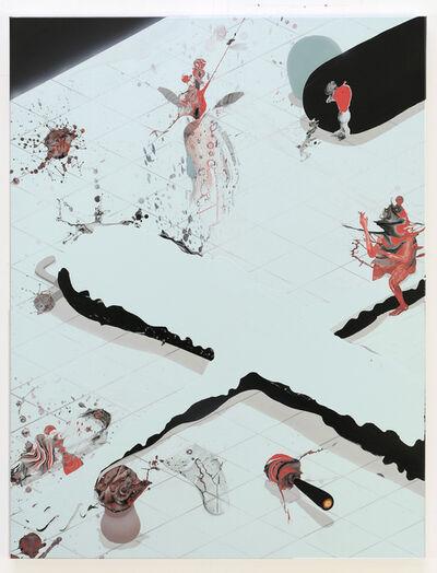Jose Castiella, 'Las tentaciones de San Antonio (II)', 2020