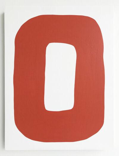 Nick Jaskey, 'Untitled (Red Circle 3)', 2018