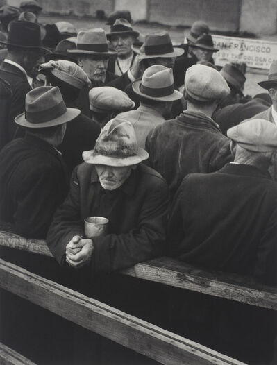 Dorothea Lange, 'White Angel Bread Line, San Francisco', 1933