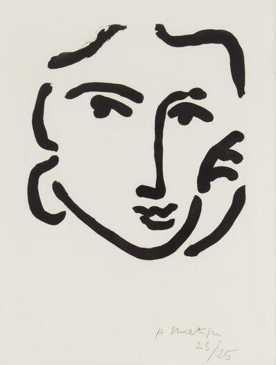 Henri Matisse, 'Nadia au Regard Sérieux ', 1948