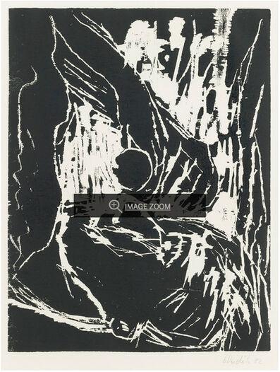 Georg Baselitz, 'Gebeugter Kopf', 1982
