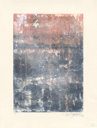 Makoto Fujimura, 'Van Nuys Monotype Series No. 2 凡奈斯絹印單刷系列', 2017