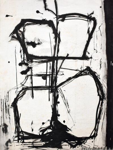 Dusti Bongé, 'Untitled (Black Forms)', 1973